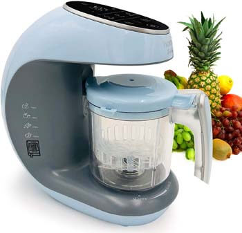 8. Homia Infano Baby Food Maker Chopper, Grinder - Mills and Steamer 7 in 1 Processor