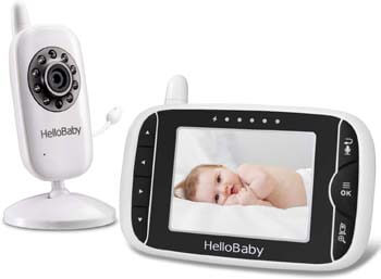 6. Video Baby Monitor with Camera and Audio