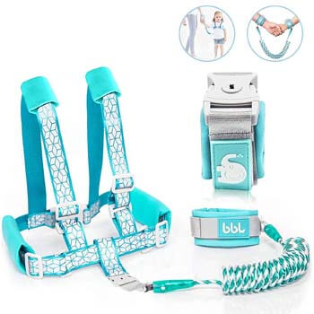 7. Toddler Leash for Walking, Toddler Safety Harnesses Leashes, Safety Harness with Lock for Kids
