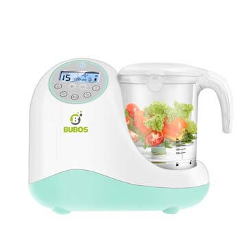 10. Bubos 5-in-1 Smart Baby Food Maker