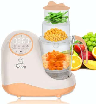 3. Baby Food Maker Chopper Grinder - Mills and Steamer 8 in 1 Processor for Toddlers