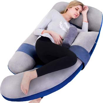 8. AS AWESLING 60in Full Body Pillow | Nursing, Maternity and Pregnancy Body Pillow