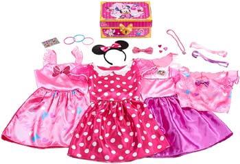 10. Disney Minnie Mouse Bowdazzling Dress Up Trunk Set