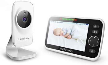 8. Video Baby Monitor with Camera and Audio