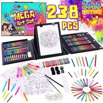 9. Dinonano School Art Supplies for Kids