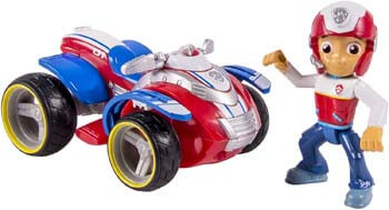 4. Paw Patrol Ryder's Rescue ATV, Vehicle and Figure