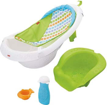 1. Fisher-Price 4-in-1 Sling 'n Seat Tub, Multicolor