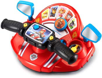 5. VTech Paw Patrol Pups to The Rescue Driver, Red