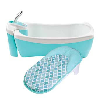 9. Summer Lil Luxuries Whirlpool Bubbling Spa & Shower (Blue)
