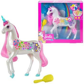 2. Barbie Dreamtopia Brush 'n Sparkle Unicorn