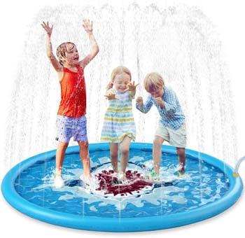 5. Jasonwell Sprinkle & Splash Play Mat 68