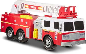 4. Tonka Spartans Fire Truck Toy FFP