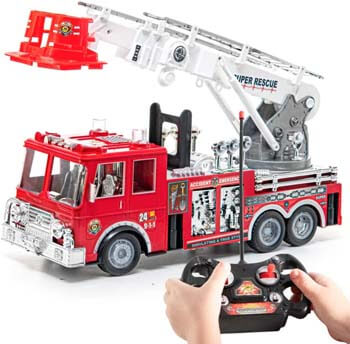 10. Prextex RC Fire Engine Truck