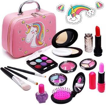 4. Senrokes Washable Makeup Unicorn Cosmetic Toy