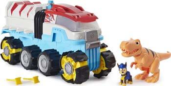 3. Paw Patrol, Dino Rescue Dino Patroller Motorized Team Vehicle