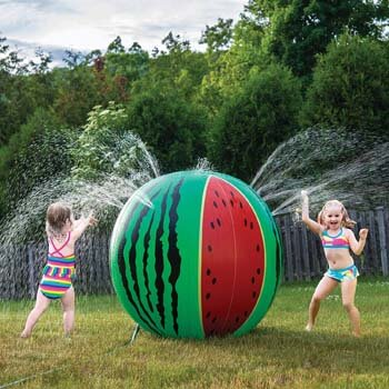 8. Prextex Giant Inflatable Watermelon Sprinkler