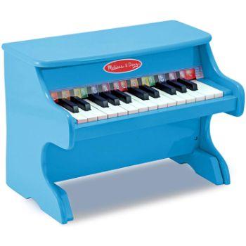 2. Melissa & Doug Learn-to-Play Piano, Blue