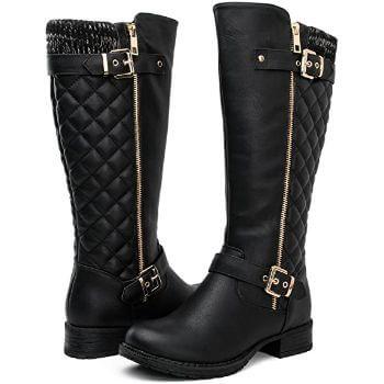 1. GLOBALWIN Women's Fashion Boots