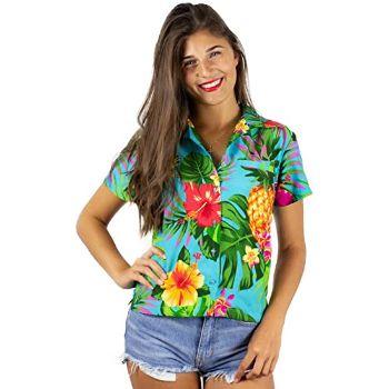 1. King Kameha Funky Hawaiian Shirt Blouse
