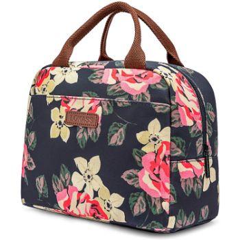 1. LOKASS Lunch Bag Cooler Bag Women Tote Bag