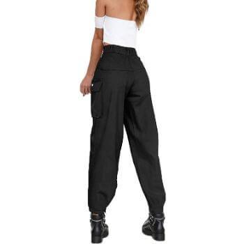 1. AMZ PLUS Women's Workout Cargo Pants