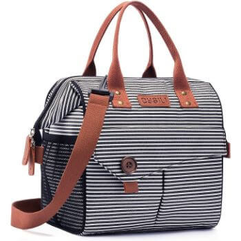 7. Kasibon Lunch Bag with Leak Proof Material, Insulated Lunch Box